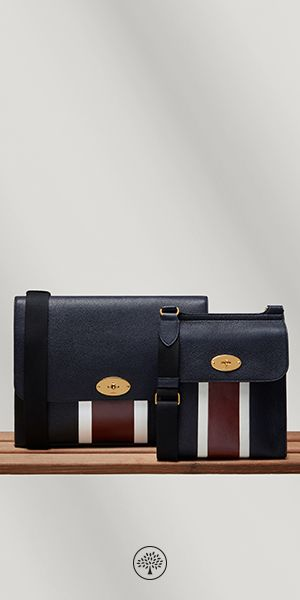 Discover the New style of Antony Bags now available on Mulberry.com. Antony messenger bags were inspired by traditional leather postman's bags, finished with our iconic postman's lock.