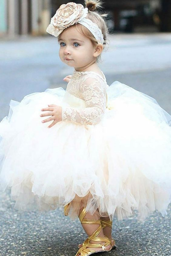 75b0c0156 20+ Cutest (and Affordable) Flower Girl Dresses for The Little Ones  #Weddings #Flowergirl #Dresses