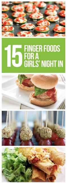 Have a guilt-free girls' night in with these delicious appetizer recipes!