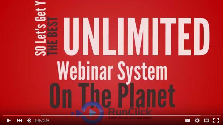RunClick Webinar Software- Run Unlimited Presentations, Webinars