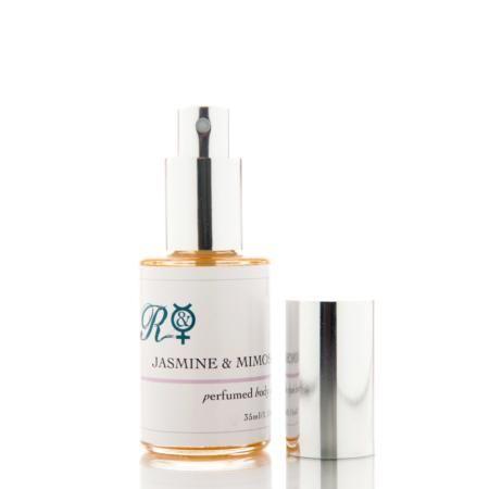 Jasmine & Mimosa Organic Perfumed Body Oil from Rebel & Mercury Perfumes