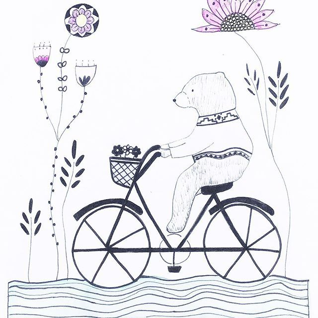 Narin Barnett from @myhiddenforest creates sweet personalised illustrations for your loved ones with a sense of fun and loads of charm.  Instagram photo by @winkelenmagazine via ink361.com
