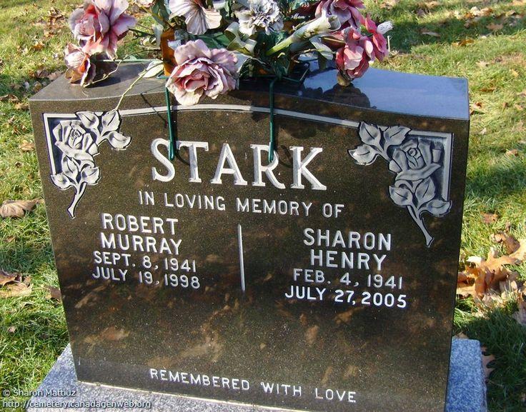ON: Gore / Clanbrassil / Dufferin Cemetery (Sharon (Henry) STARK)…