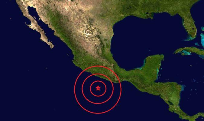 Hoy a las 03:55:13 hrs, centro de México (08:55 UTC) fue registrado un primer sismo de 5°, con epicentro a 82 kilómetros al suroeste de Pinotepa Nacional, según reporta el Servicio Sismológico Nacional de México, y el Instituto Geológico de los Estados Unidos (USGS).
