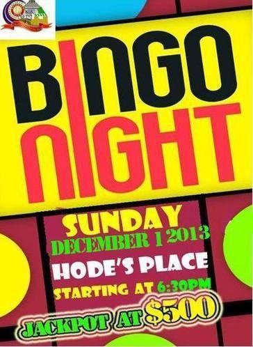 Rotaract Bingo Night