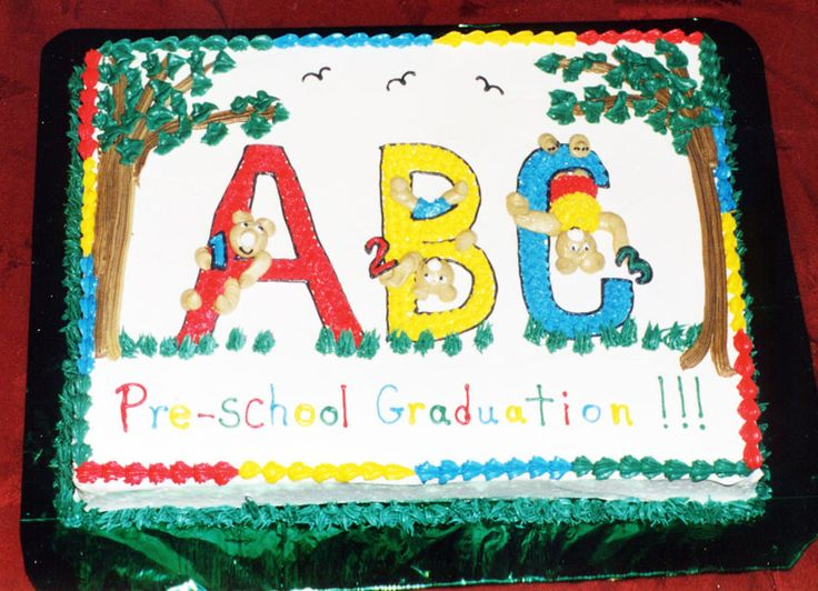 23 best images about abc cakes on pinterest preschool for Abc cake decoration