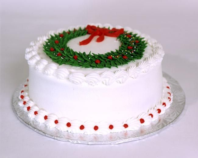Bundt Cakes Decorated For Christmas