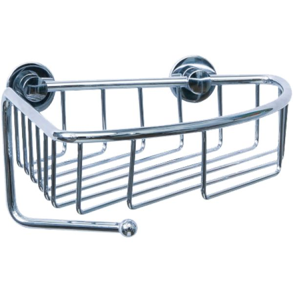 Never Drill Again Draad Single Tier Corner Shower Caddy | Never, Showers  And Corner