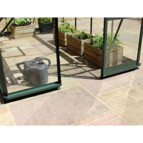 Serre de jardin 1,95m² verre trempé BIRDLIP noire - Eden Greenhouses