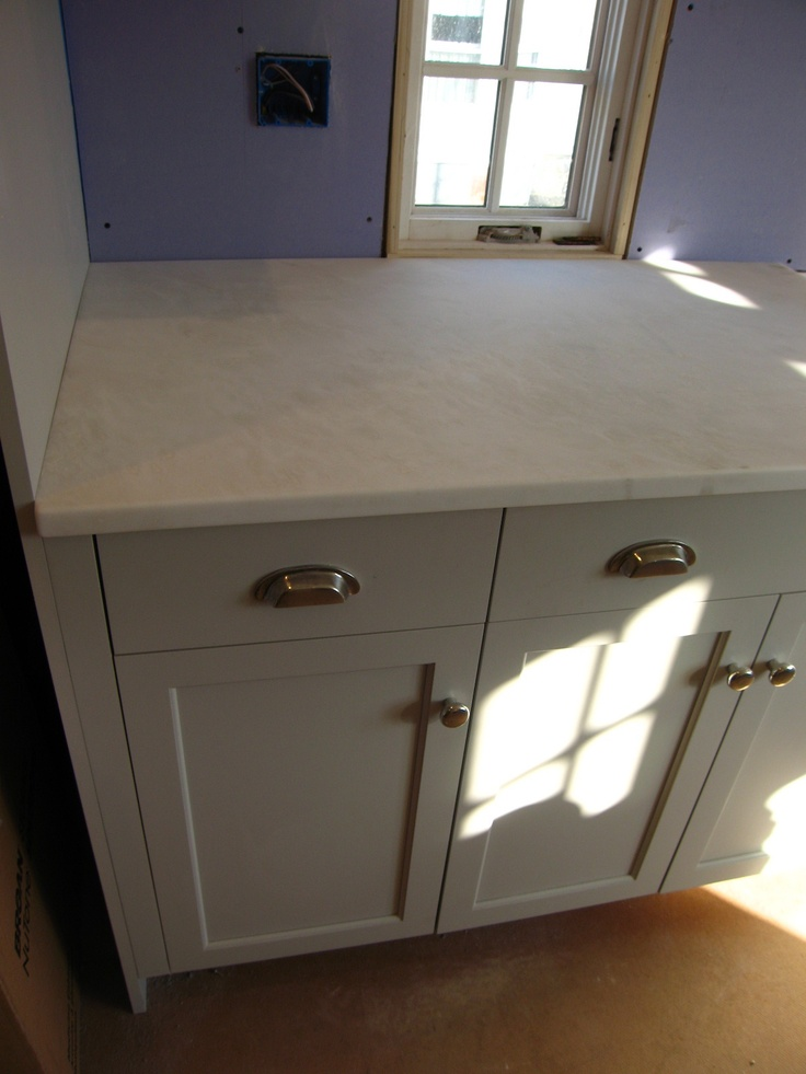 Farrow and ball conforth white on cabs