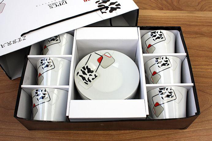 Kahve Fincan Takimi 12 Parca 2025 ZEBRA