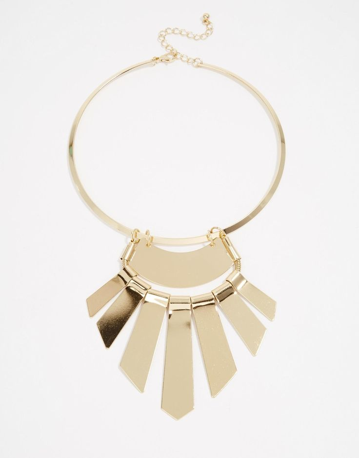 ASOS Statement Fan Bib Necklace