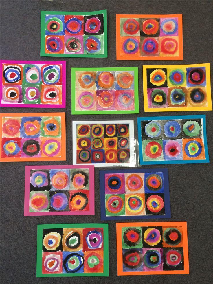 K/1 Kandinsky concentric circles