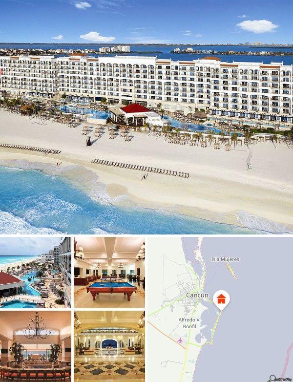 El complejo está situado en el corazón de la famosa zona hotelera de Cancún, en la mejor playa de la ciudad. Está a solo 15 minutos de distancia del centro y a 20 minutos del aeropuerto internacional de Cancún. Cerca se encuentran los mejores centros comerciales, restaurantes y locales nocturnos que ofrece la ciudad.