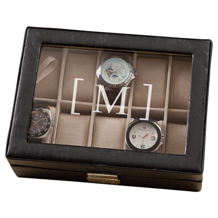 1000 ideas about personalized watch box watch box personalized william leather watch case the perfect gift for the dapper gent in your life