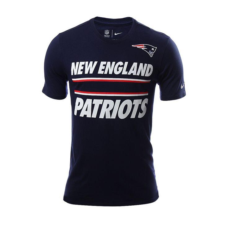 New England Team Stripe Tee - Hombres
