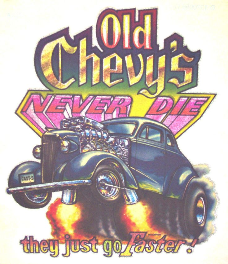 Vintage chevy car never die rare 70 39 s t shirt iron on for 70 s t shirt transfers