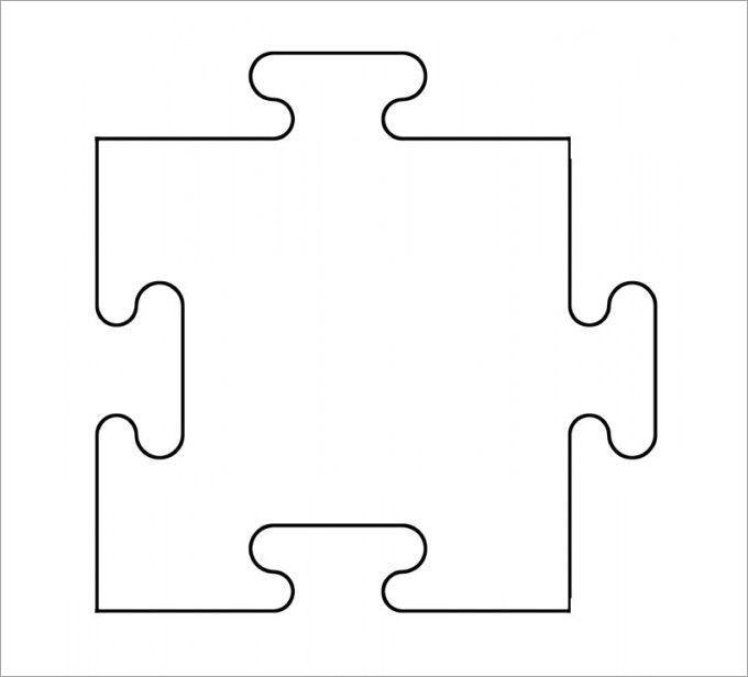 Puzzle Piece Template   Free & Premium Templates …