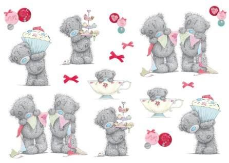 Stickers 'Tatty Teddy Party' – FUNTOSEE
