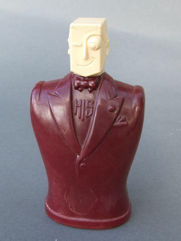 American 1930's Mens Perfume Bottle.
