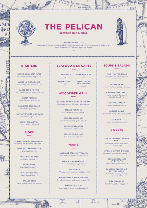Best ideas about restaurant menu design on pinterest