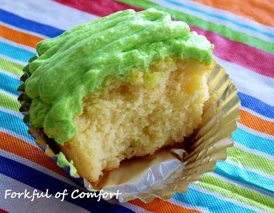 Forkful of Comfort: Mountain Dew Cupcakes