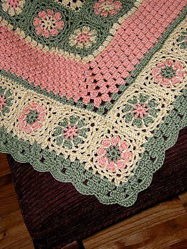http://www.pinterest.com/teretegui/ Crochet Baby Afghans, Crochet ...