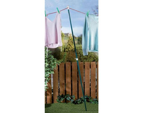 Telescopic Clothes Prop £8  Extend it to over 2m to dry your washing, then retract it to make collecting your laundry easy.  KLife Kleeneze