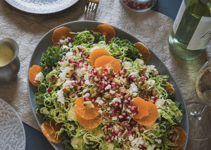 Winter Salad With Granny Smith Apple Vinaigrette