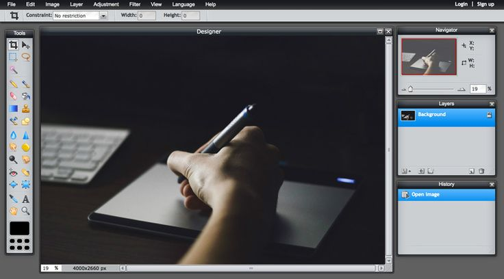On the Creative Market Blog - Free Online Photoshop Alternatives That Don't Suck