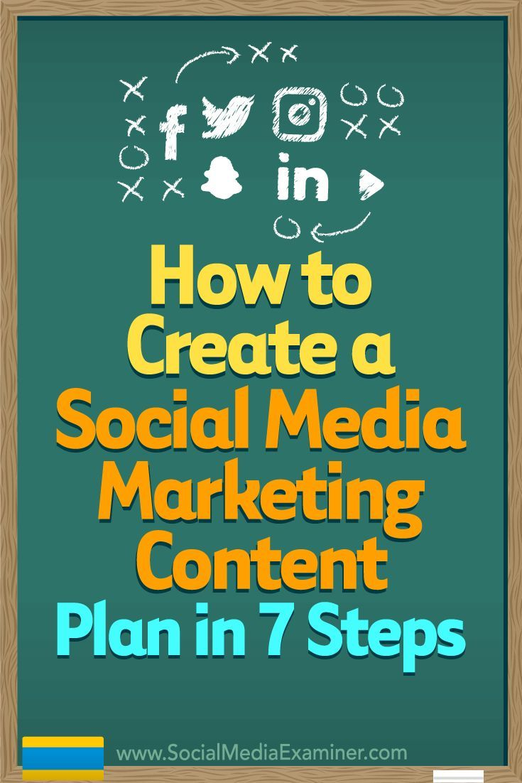 Planning your social media content delivery keeps your marketing on-message, making it more likely that you��ll reach your business goals.