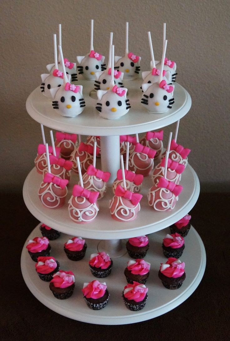 73 best hello kitty images on Pinterest Birthdays Petit fours and
