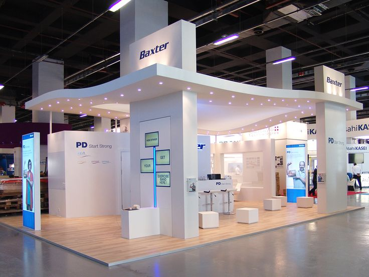 Exhibition Stall Reference : Baxter by neo design th era edta congress