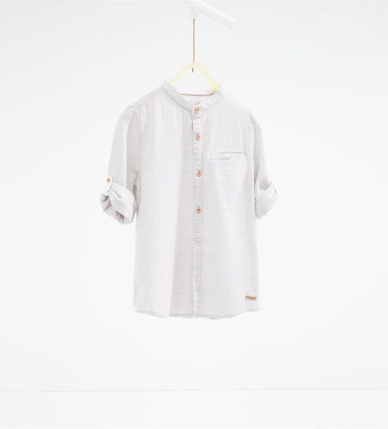 Textured weave shirt - Available in more colours