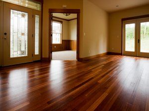 Making wood floors shine and filling in any scratches! Looks like this will be added to my list of things to do!... Tea...