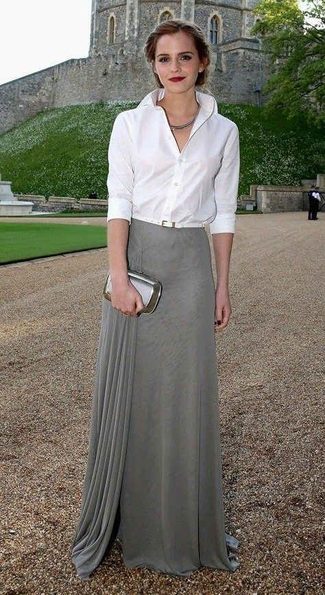 Looking for a similar outfit as the one Emma Watson is wearing