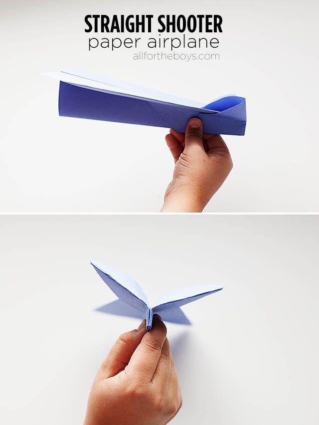 Straight shooter paper airplane step by step #OwnDisneyPlanes #shop #cbias #paperairplane