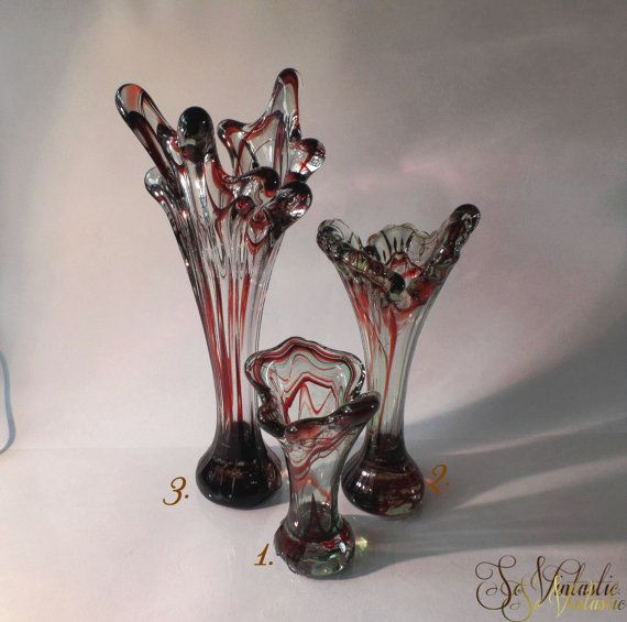 126 best images about art glass and crystal mostly for Jardin glass vases 7 in