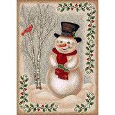 Found it at Wayfair - Winter Seasonla Snowman Novelty Rug