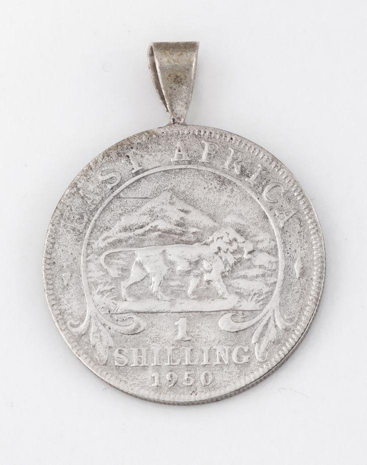 Kenyan vintage coin pendant