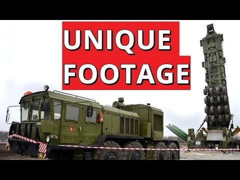 DELICATE JOB: Watch How Russian Yars ICBM Get Loaded Into Underground Shaft