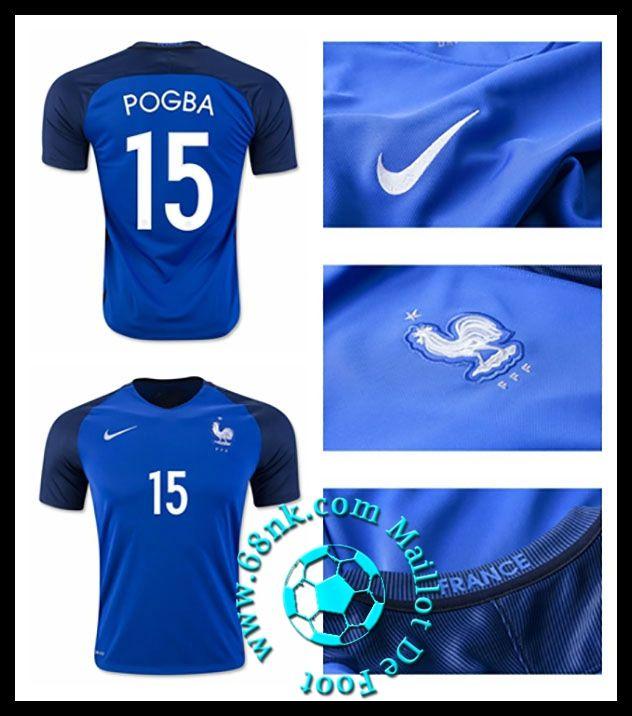 vente maillots foot pas cher france maillot de foot euro 2016 2017 pogba homme domicile