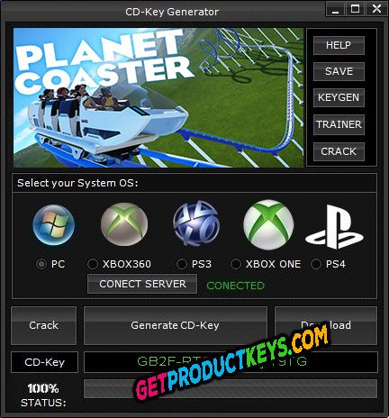 Planet Coaster CD Key Generator