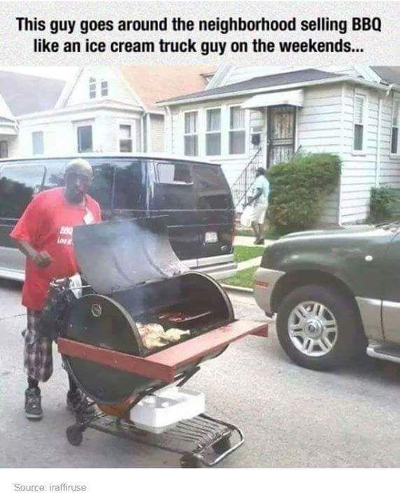 Men On Fire Bbq Food Truck