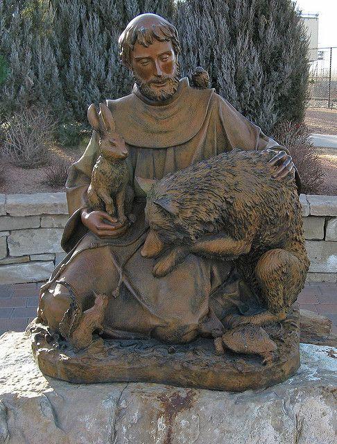 Saint Francis Sculpture: Riverwalk: Pueblo, Colorado (CO) by Floyd Muad'Dib, via Flickr