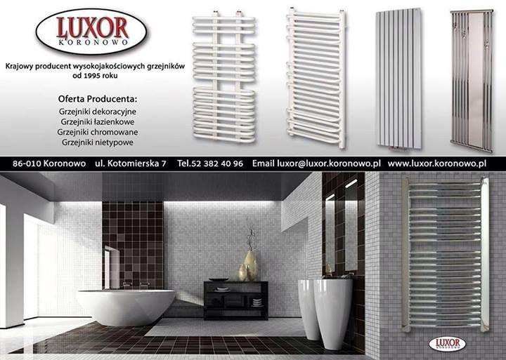 Posiadamy w swojej ofercie grzejniki polskiego producenta firmy LUXOR w korzystnych cenach. email: info@interior4u.eu