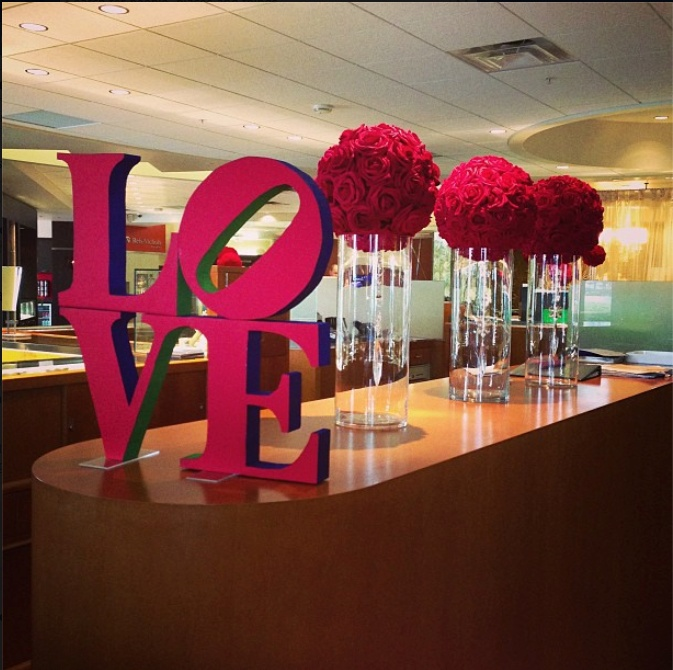 Retail Valentine S Display By Setting The Mood Setting The Mood