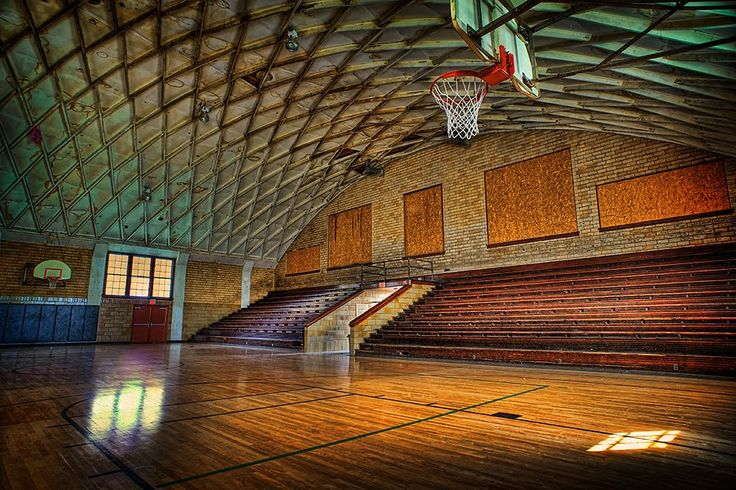 Awesome Photo Of A Basketball Court Miscellaneous