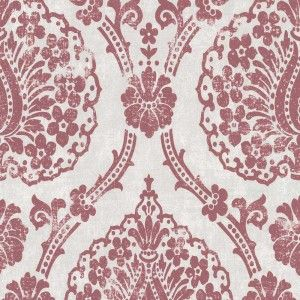 Tapetenmay Barock Wallpaper Red