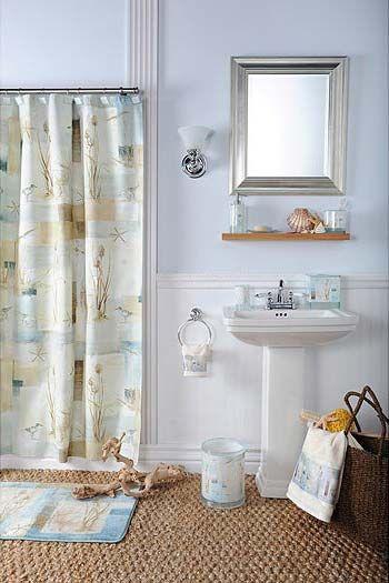 19 best beach theme bathroom images on Pinterest | Bathroom ideas ...